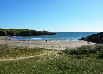 Beautiful sheltered Porth Trecastell