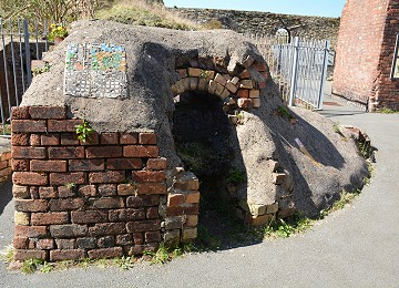 One of the old kilns at the breakwater country park
