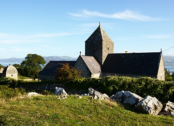 Penmon church on Anglesey in North Wales