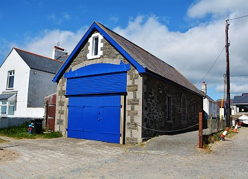 The former Rhosneigr lifeboat station
