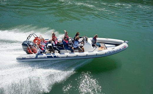 Rib Ride Adventure tours on Anglesey