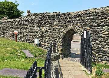 Roman Fort gateway at Holyhead