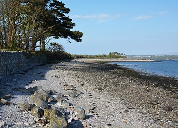 Place of Roman landing on shore at Brynsiencyn