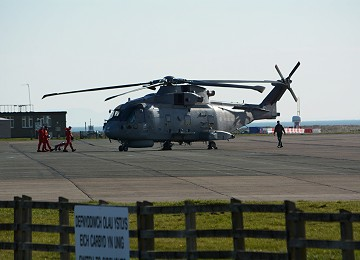 Royal Navy Merlin MkII at RAF Valley