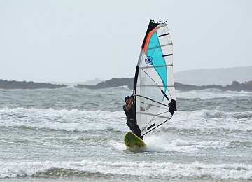 Rhosneigr has some of the best beaches for Wind Surfing