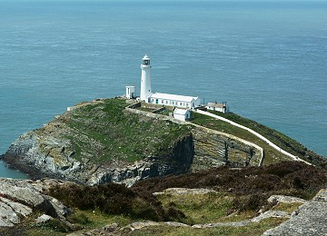 South stack lighthouse on Ynys Lawd