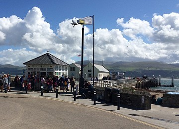 The Pier kiosk at Beaumaris