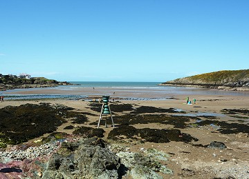 The shore bell at cemaes bay